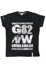 Gorilla Wear 82 Tee - Black