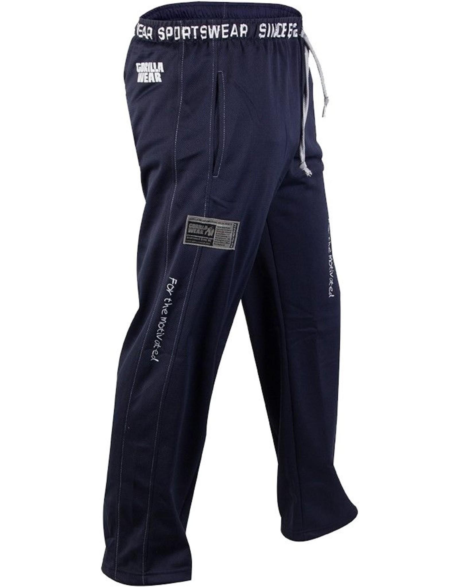 Gorilla Wear Logo Meshpants - Blue