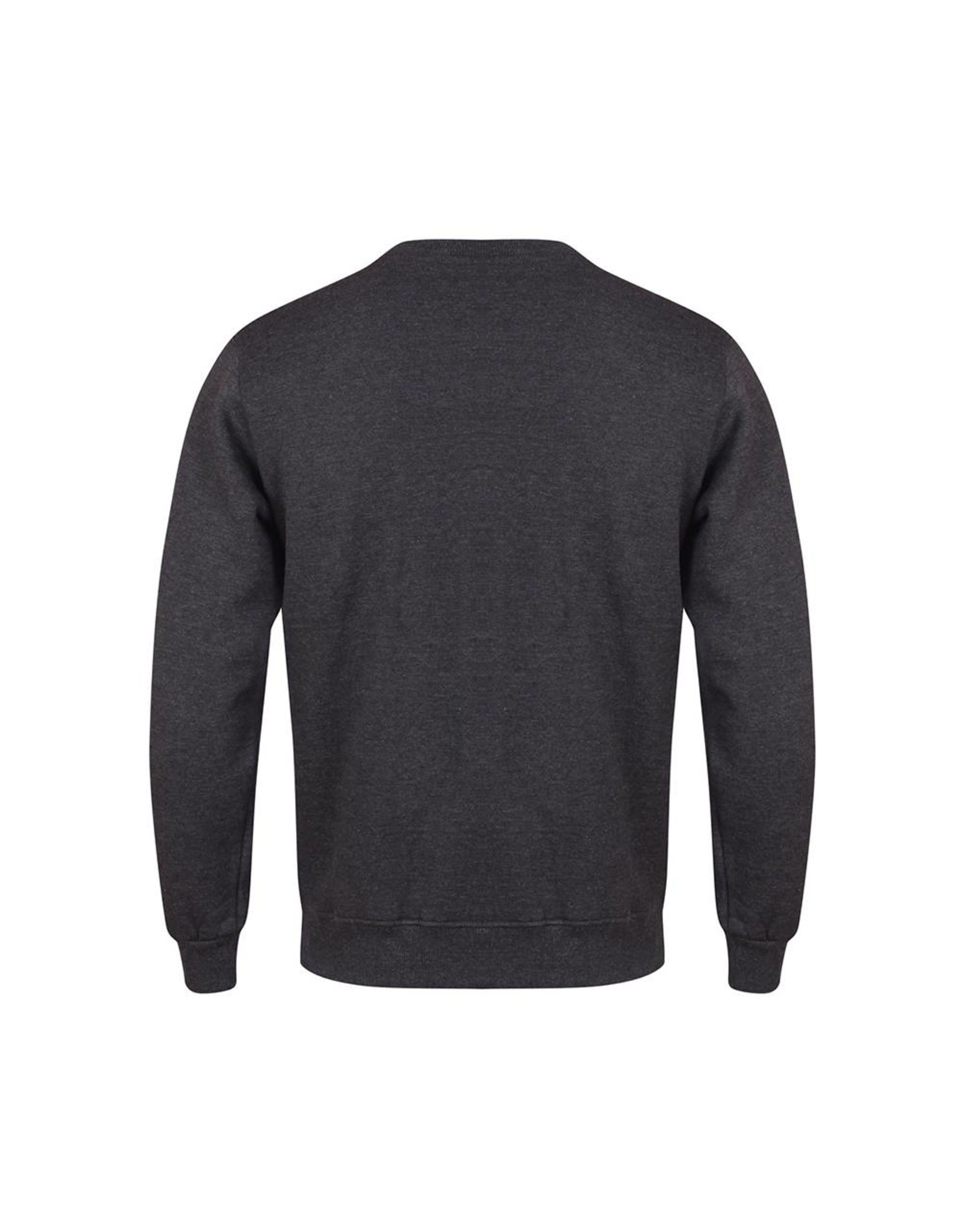 Gold's Gym Muscle Joe Crew Neck Sweater - Charcoal Marl