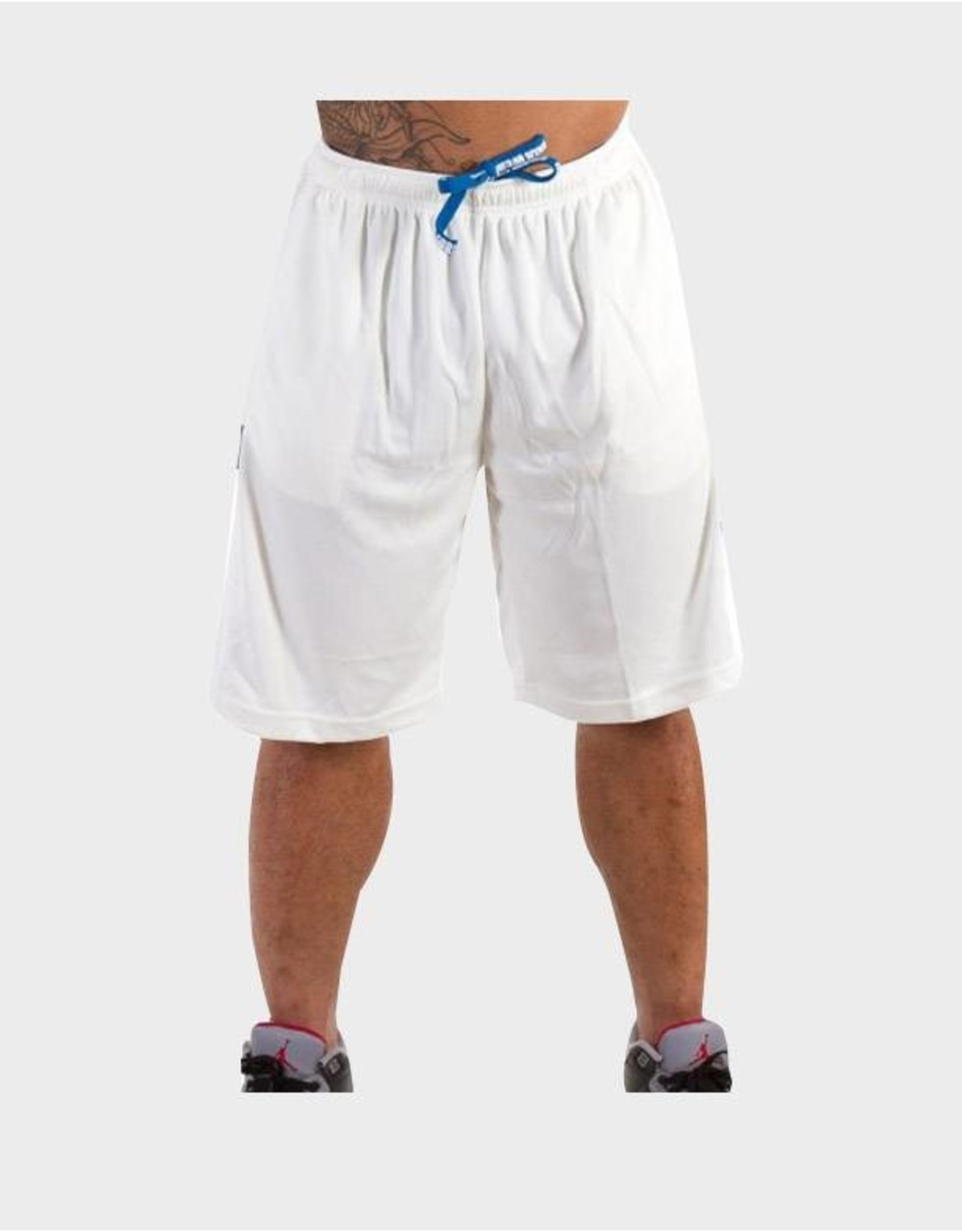 Gorilla Wear Superior Mesh Shorts - Pure White