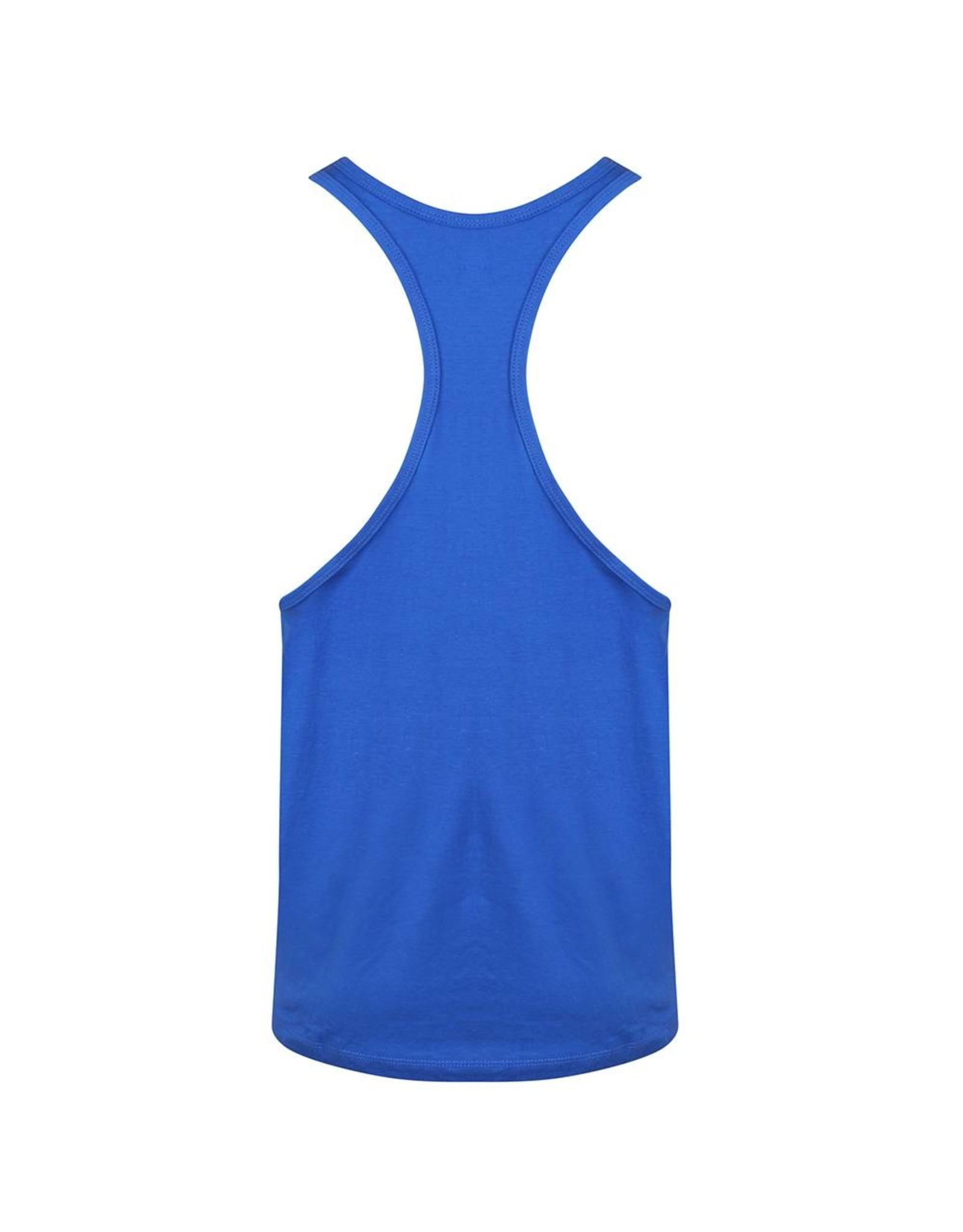 Gold's Gym Muscle Joe Premium String Vest - Royal
