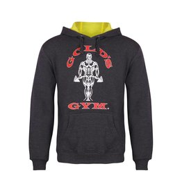 Gold's Gym Pullover Muscle Joe Hoodie - Charcoal Marl