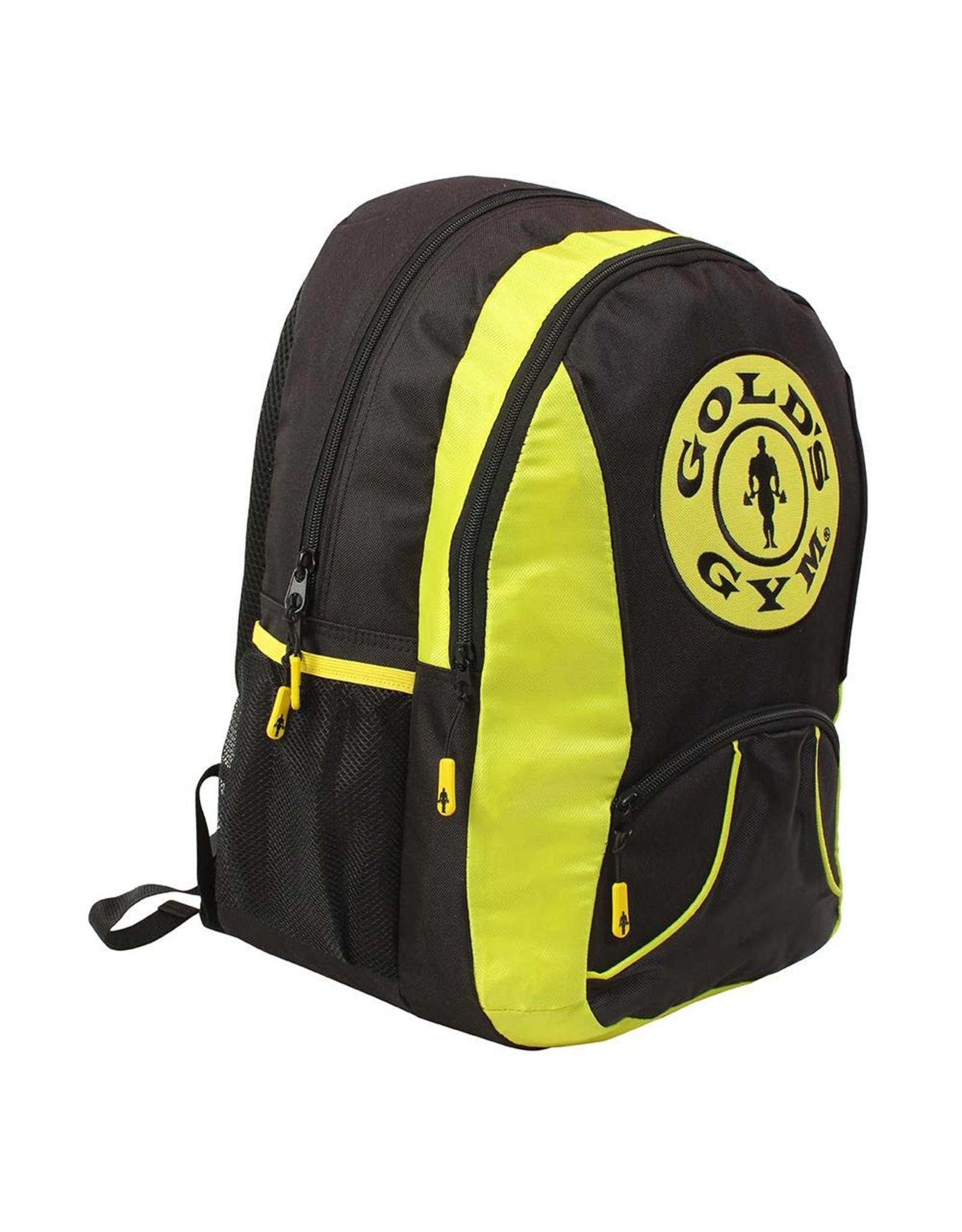 Gold's Gym Back Pack - Black/Gold