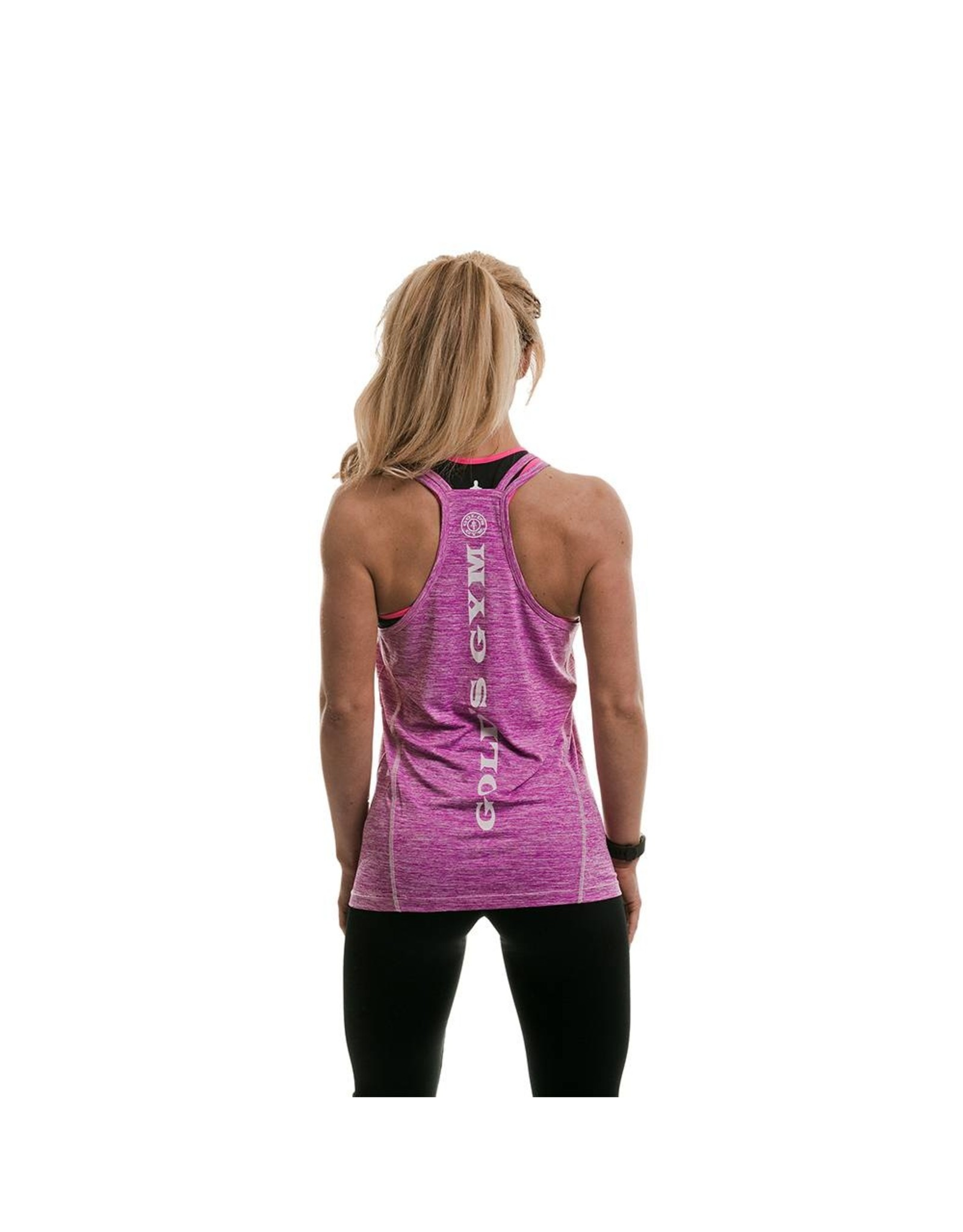 Gold's Gym Performance Ladies Vest - Lilac Marl