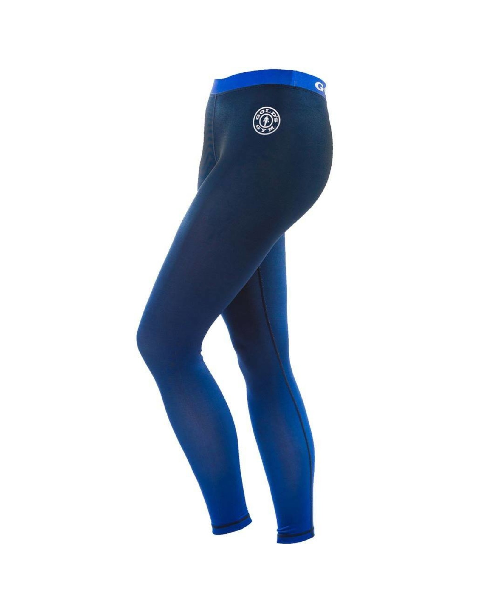 Gold's Gym Ladies Gradient Sublimated Gym Leggings - Blue