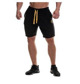 Gold's Gym Logo Fleece Premium Shorts - Black