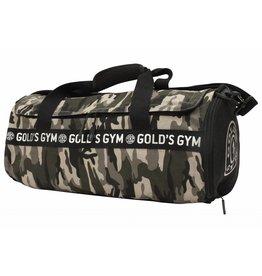 Gold's Gym Camo Print Barrel Bag