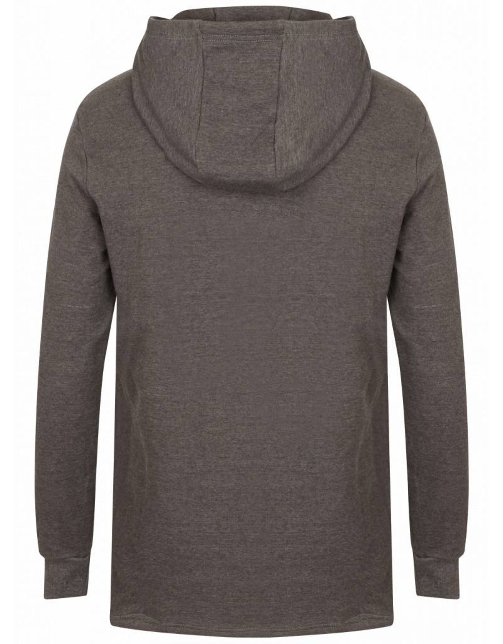Gold's Gym Long Sleeve Hooded Sweat - Grijs