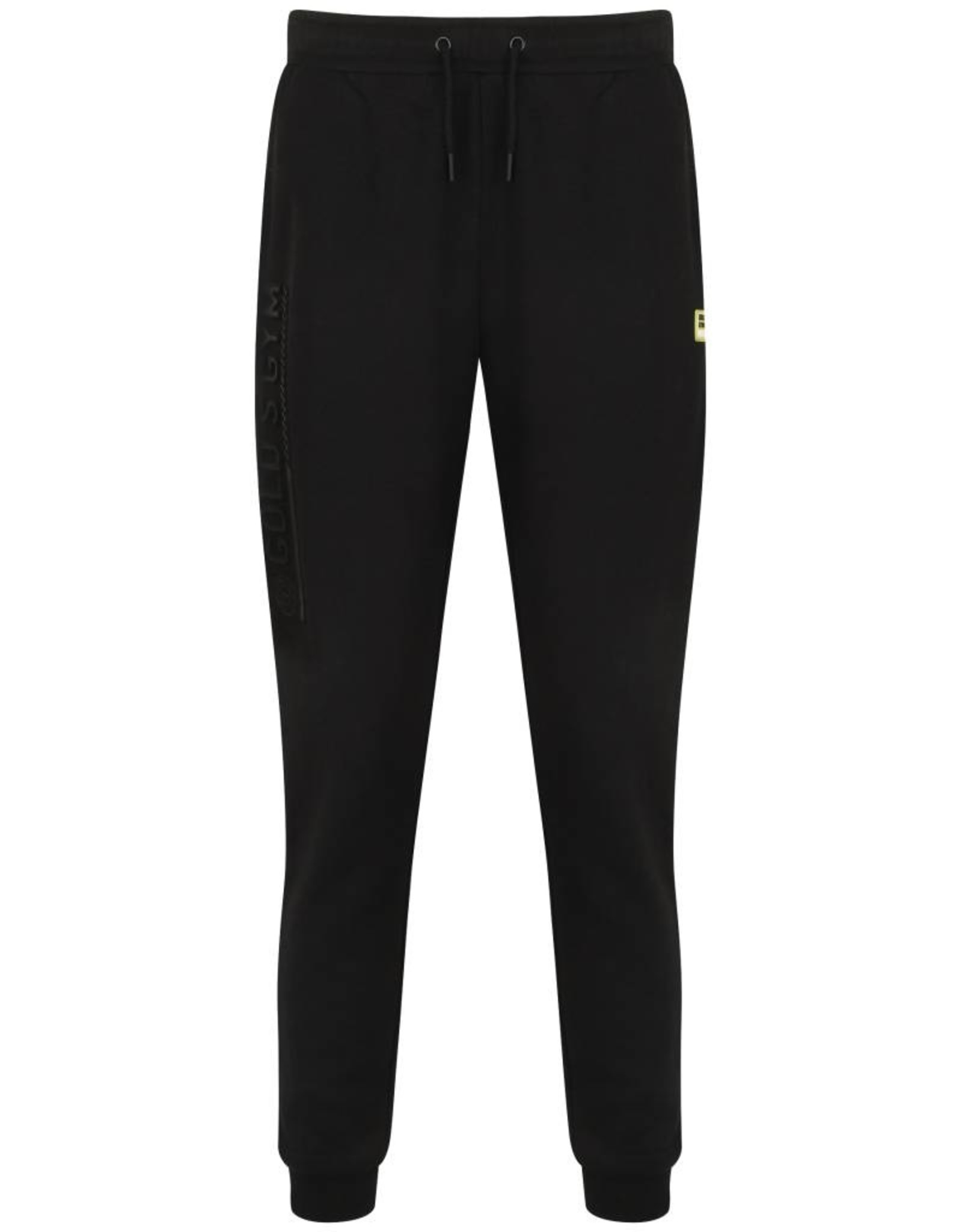 Gold's Gym Jog Pants with Embossed Print - Zwart
