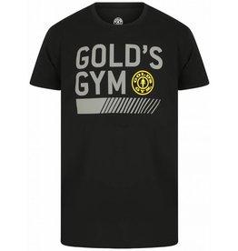 Gold's Gym Crew Neck Basic T-shirt - Zwart