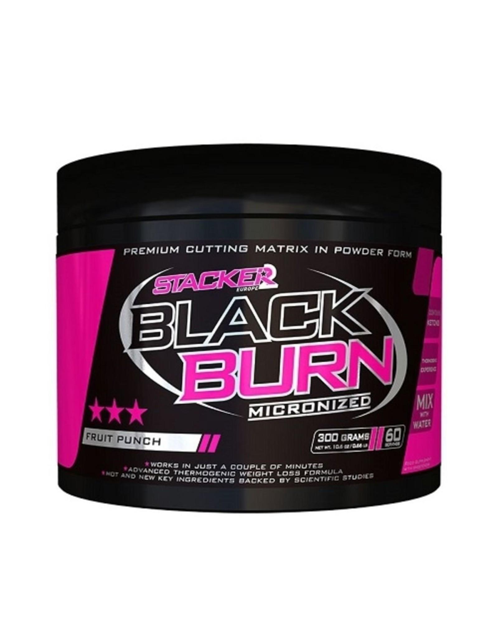 STACKER 2 Black Burn Micronized