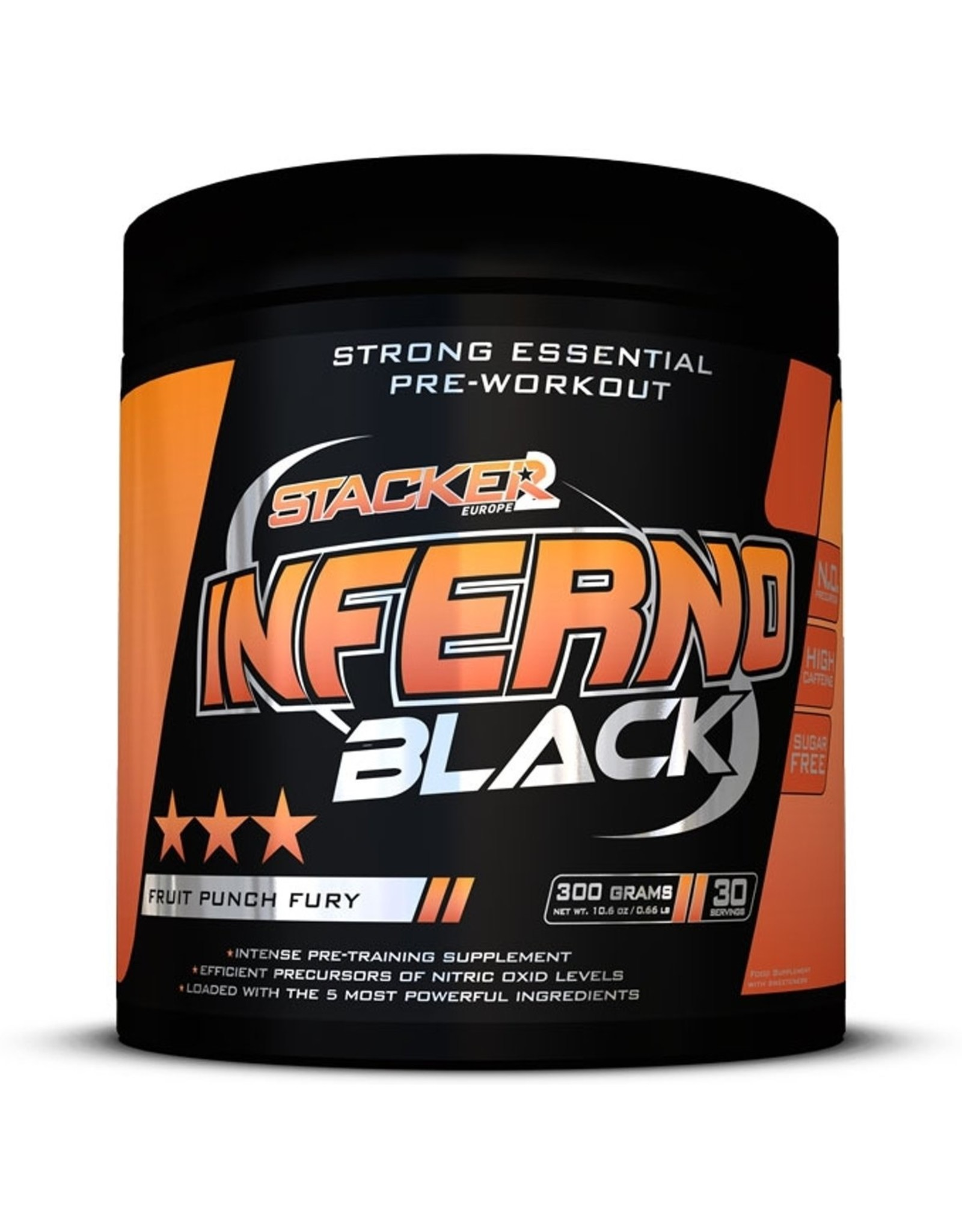 STACKER 2 Inferno Black