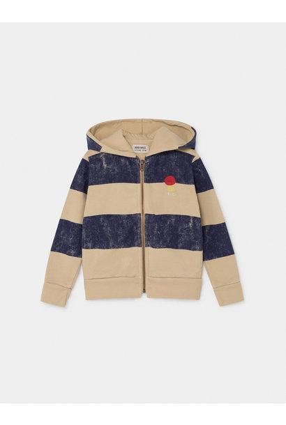 Striped Mercury Hooded Sweatshirt