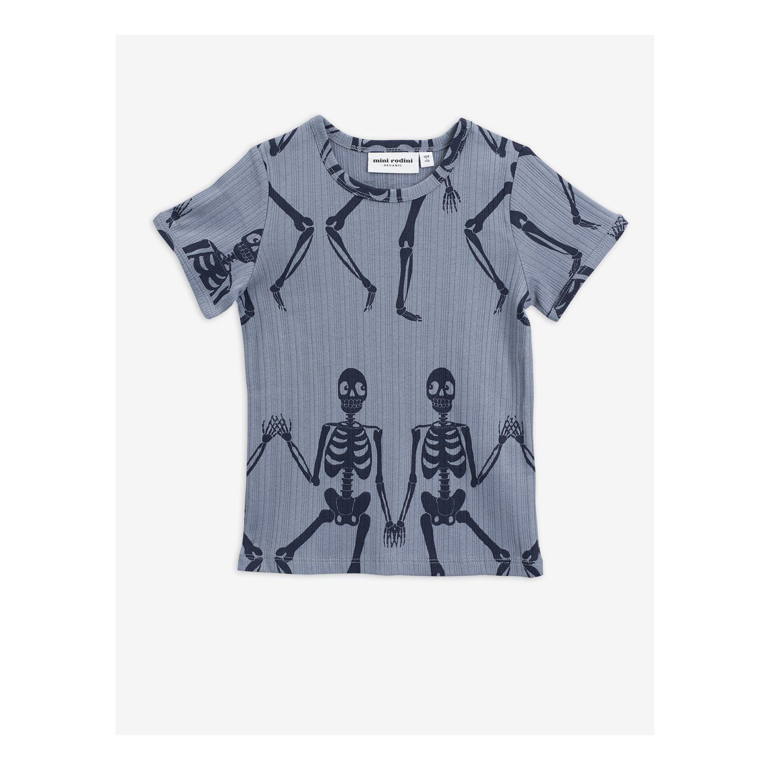 Skeleton aop ss tee-1