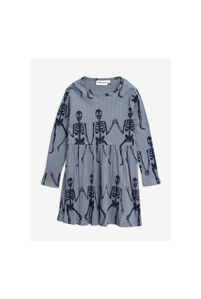 Skeleton aop ls dress