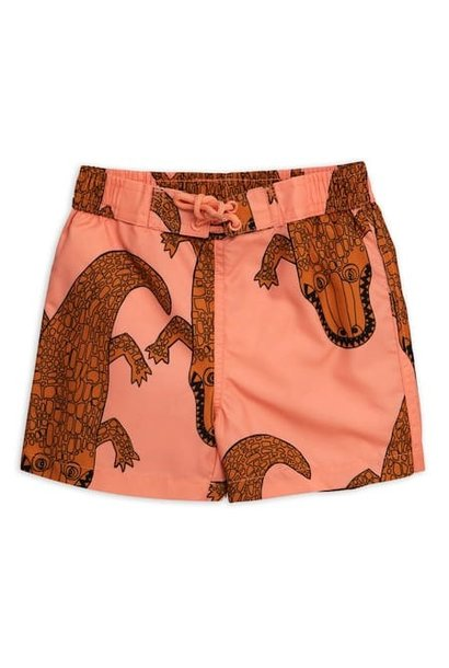 Croco swim shorts