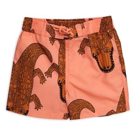 Croco swim shorts-1