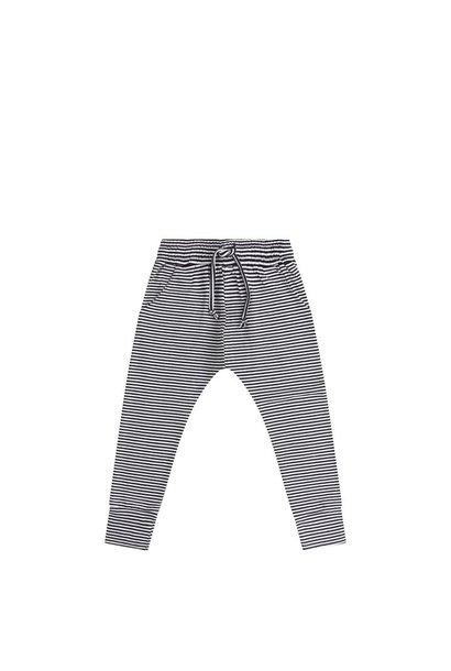 Winter slimfit jogger - Stripes