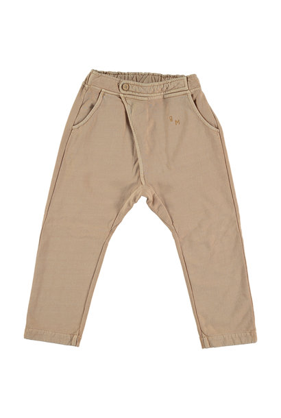 Baggy plain pant - Maple Sugar