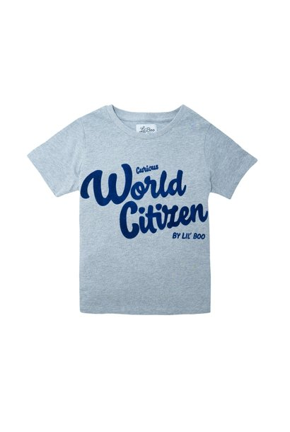 Curious World Citizen T-shirt - short sleeve