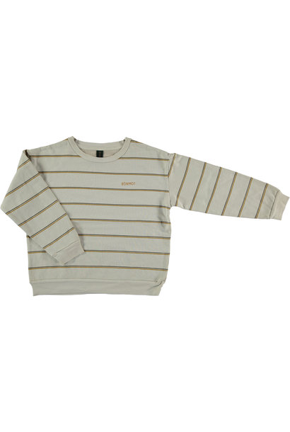 Sweatshirt double stripe - Maple Sugar