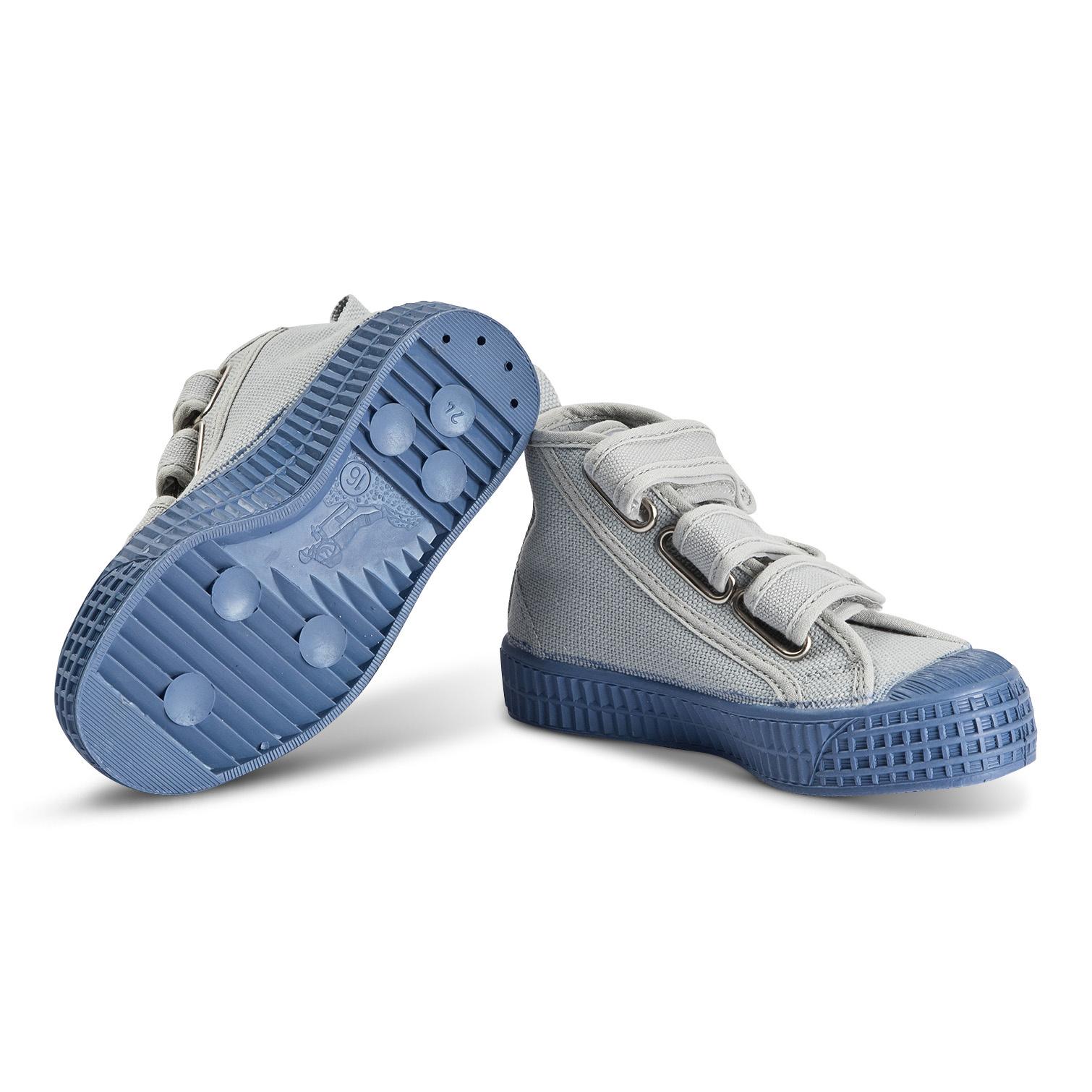 STAR DRIBBLE KID - Grey / Blue-2