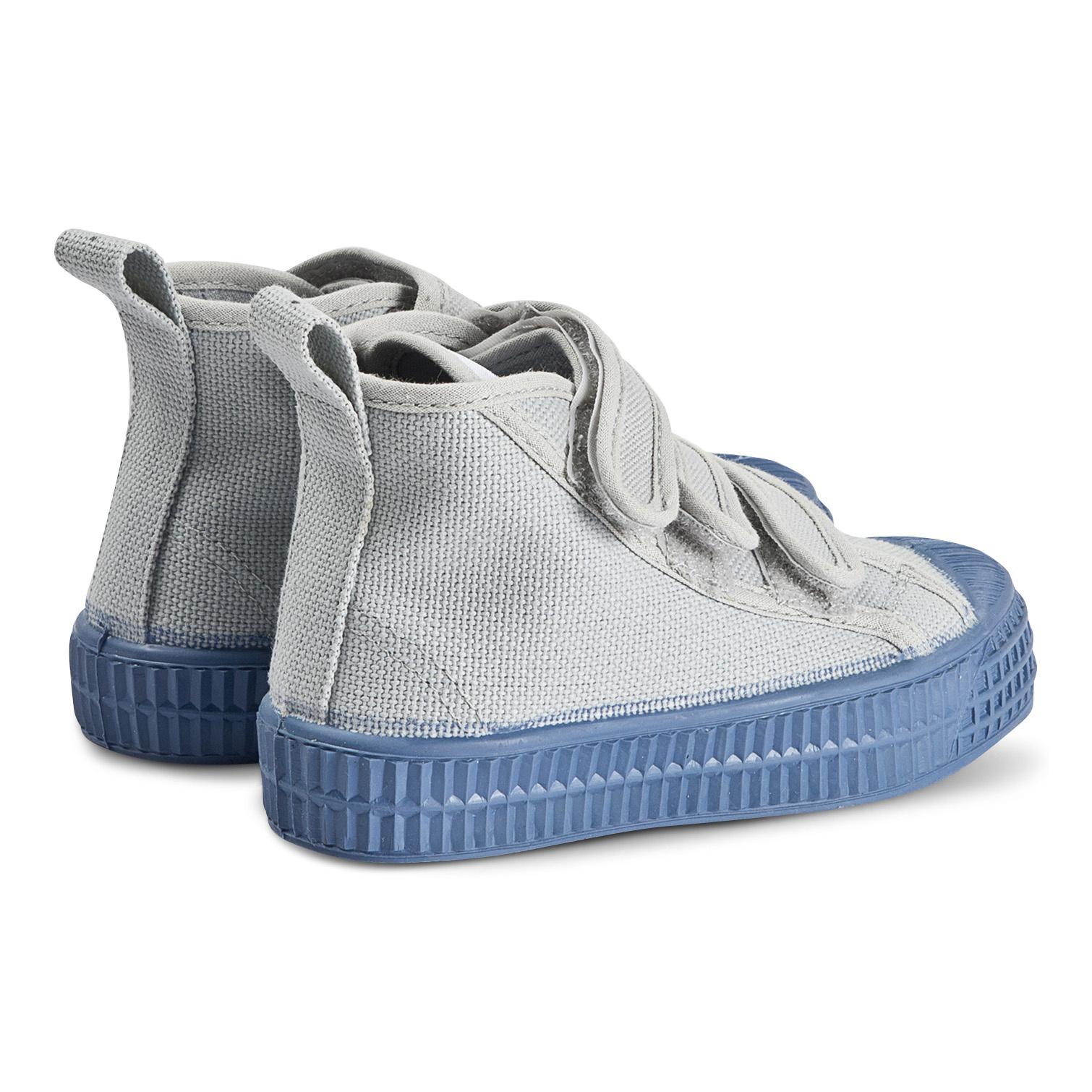 STAR DRIBBLE KID - Grey / Blue-3