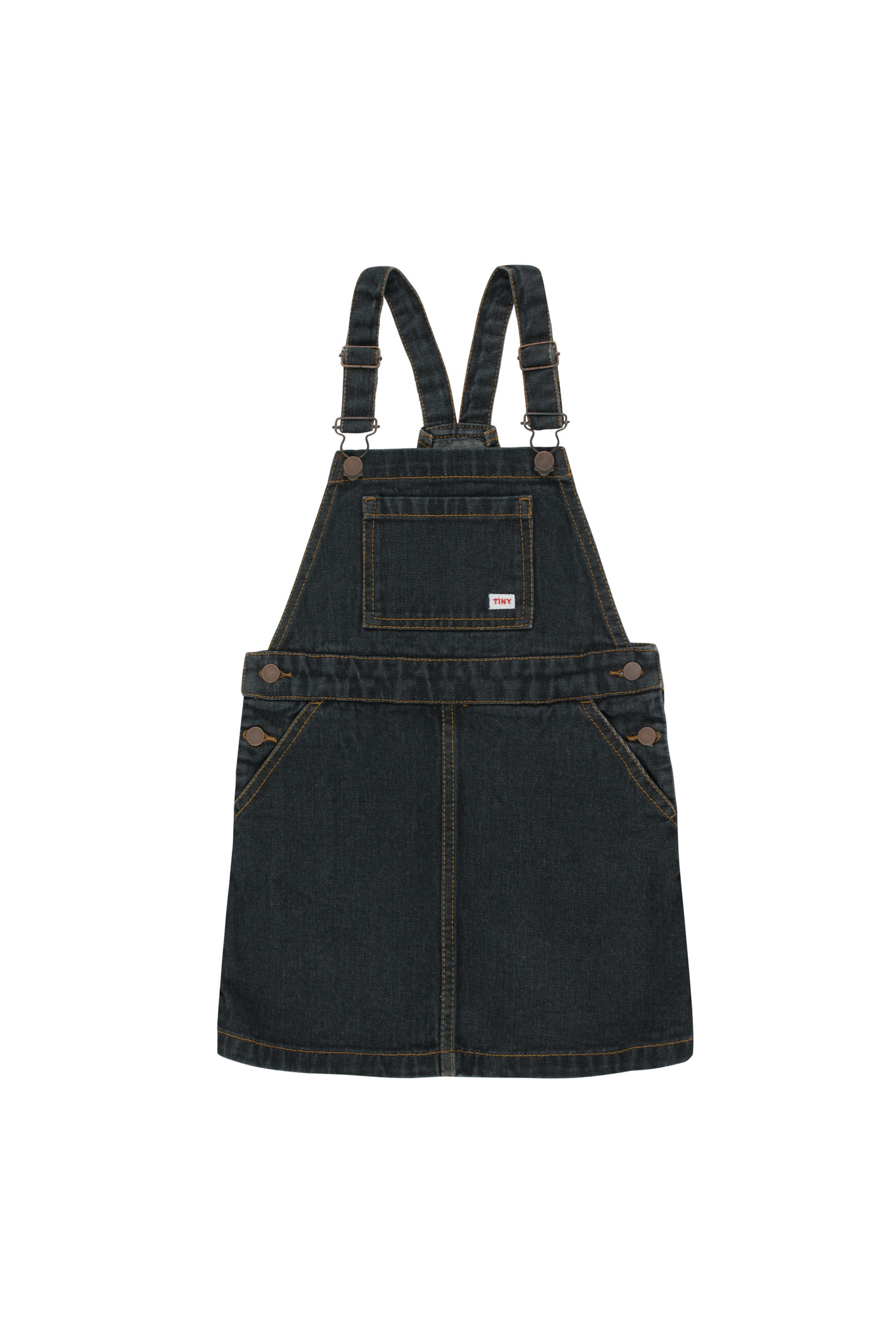 DENIM SHORT DRESS-1