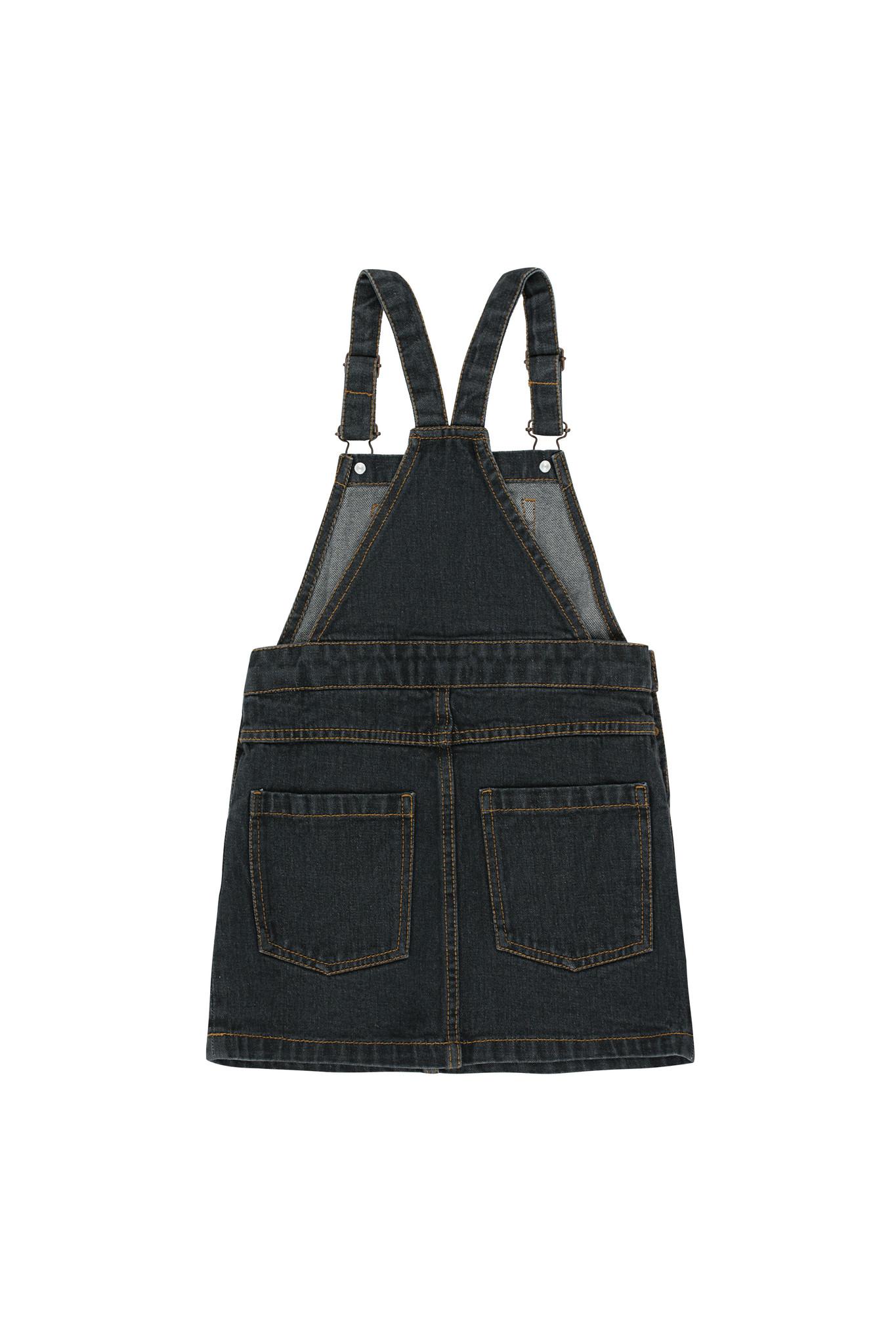 DENIM SHORT DRESS-3