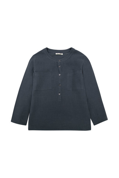 Julian long sleeve with patch pockets