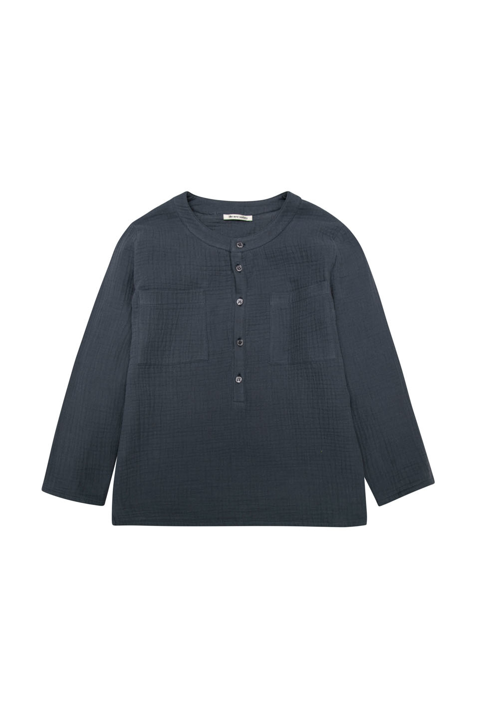Julian long sleeve with patch pockets-1