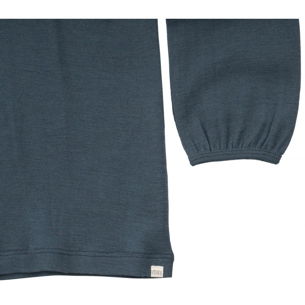 Vanja long sleeve T-shirt - Thunder Blue-4