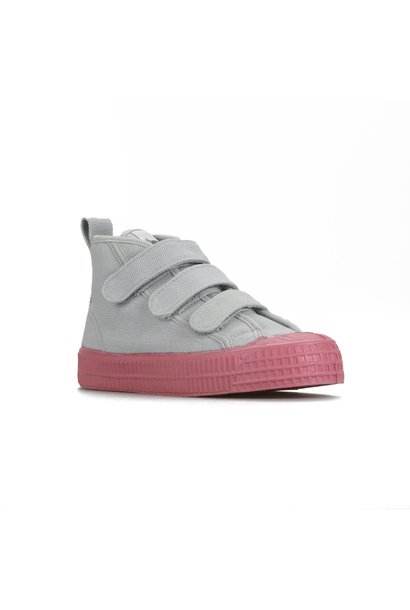 STAR DRIBBLE KID - Grey / Pink