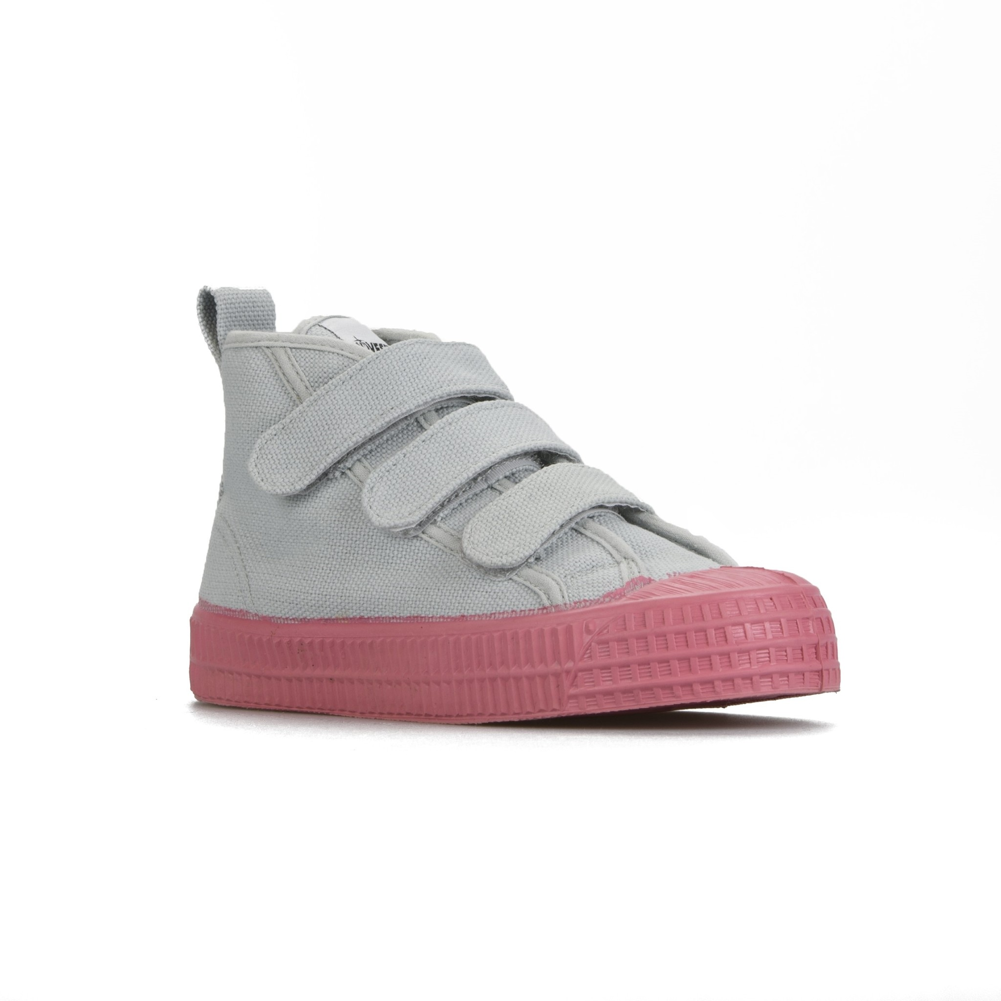 STAR DRIBBLE KID - Grey / Pink-1