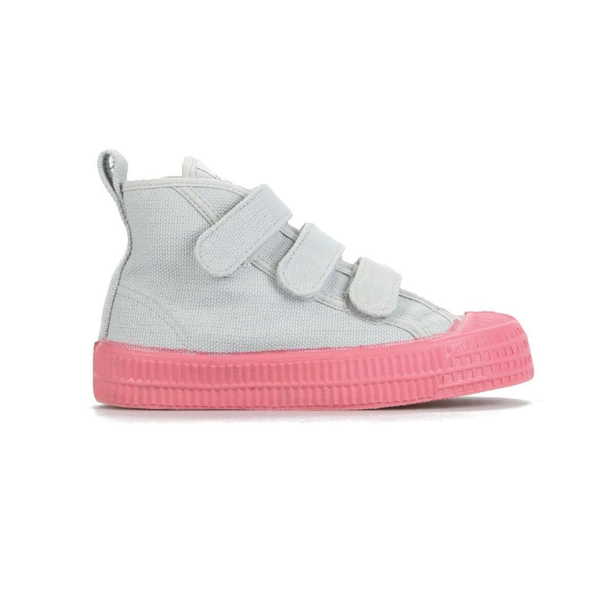 STAR DRIBBLE KID - Grey / Pink-3