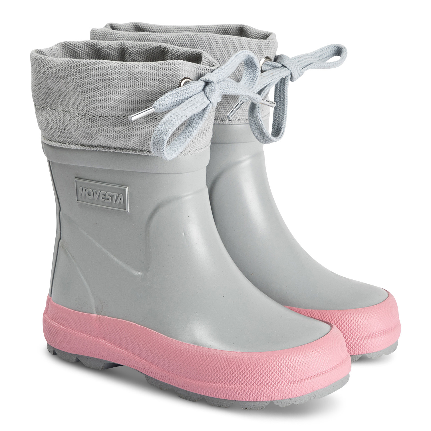 KIDDO WINTER BOOTS - Grey / Pink-1