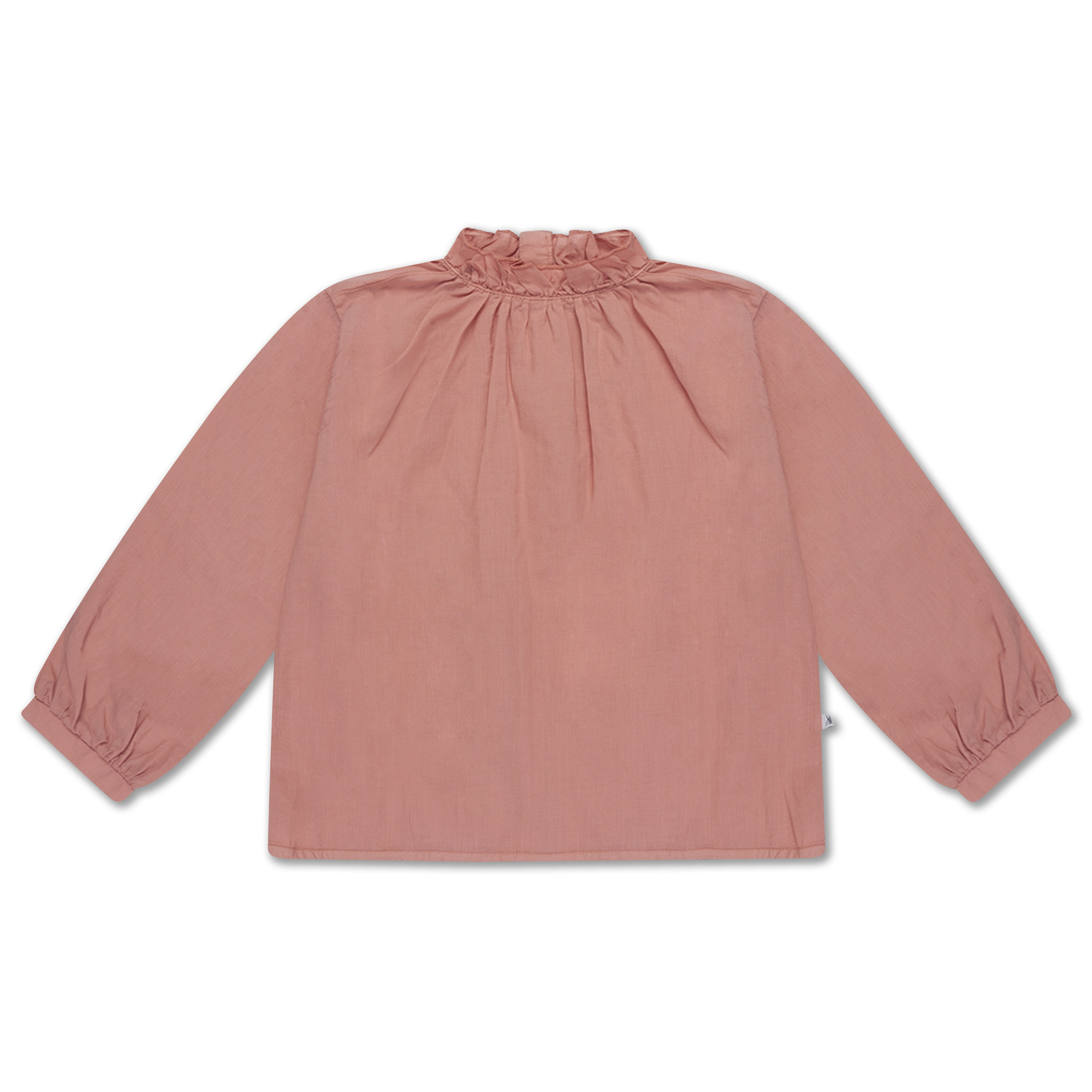 Ruffle blouse - Powder Peachy-1