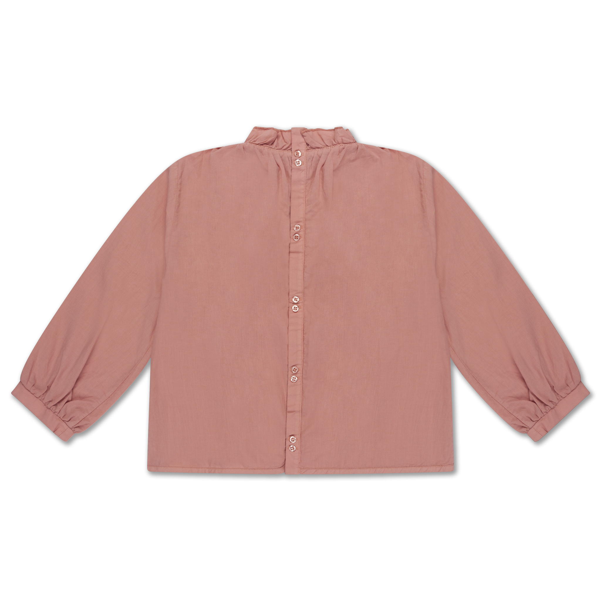 Ruffle blouse - Powder Peachy-3