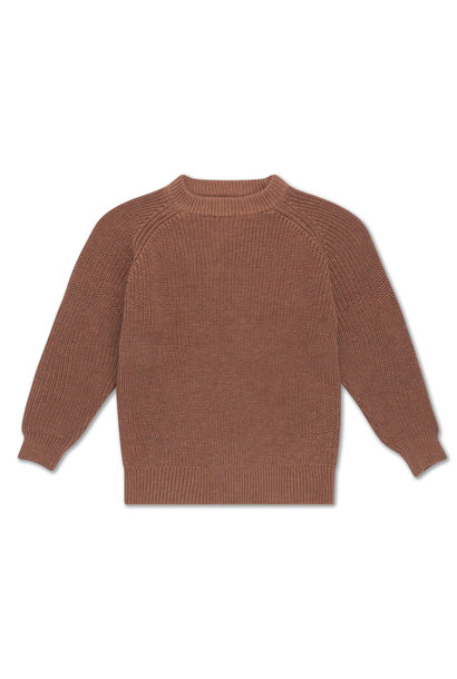 Knit sweater - Rusty Marble
