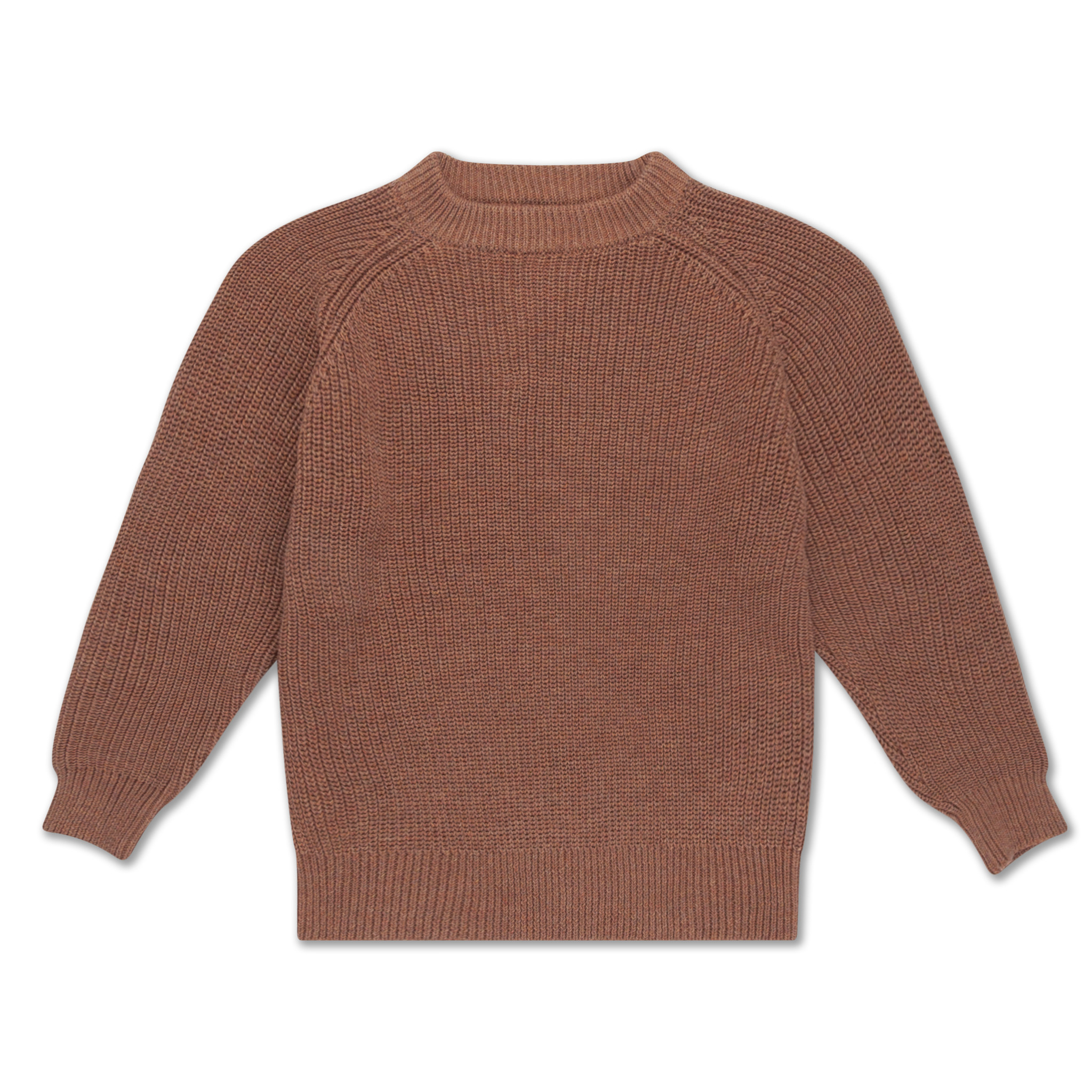 Knit sweater - Rusty Marble-1