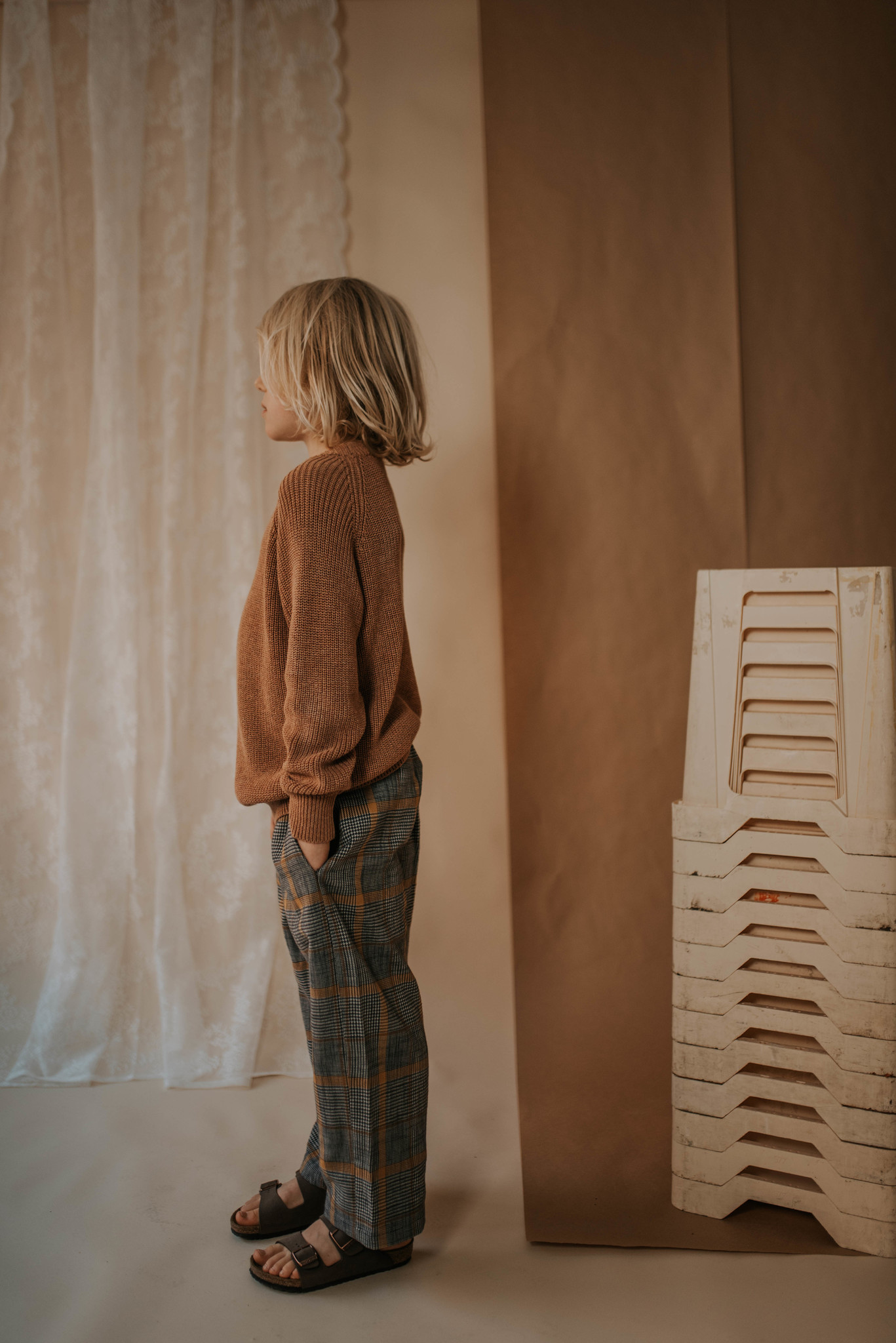 Knit sweater - Rusty Marble-2