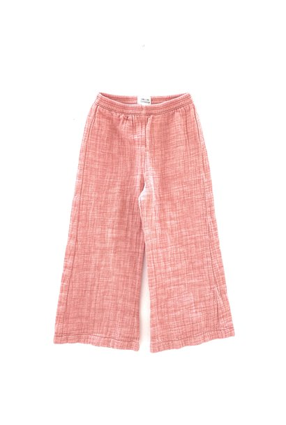 Crinkle pants - Red