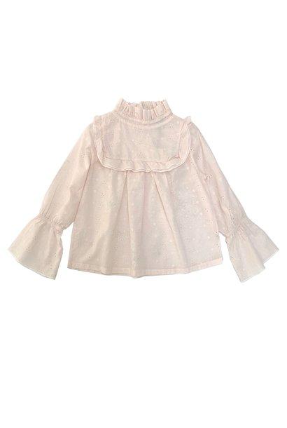 Ruffle blouse - Milk