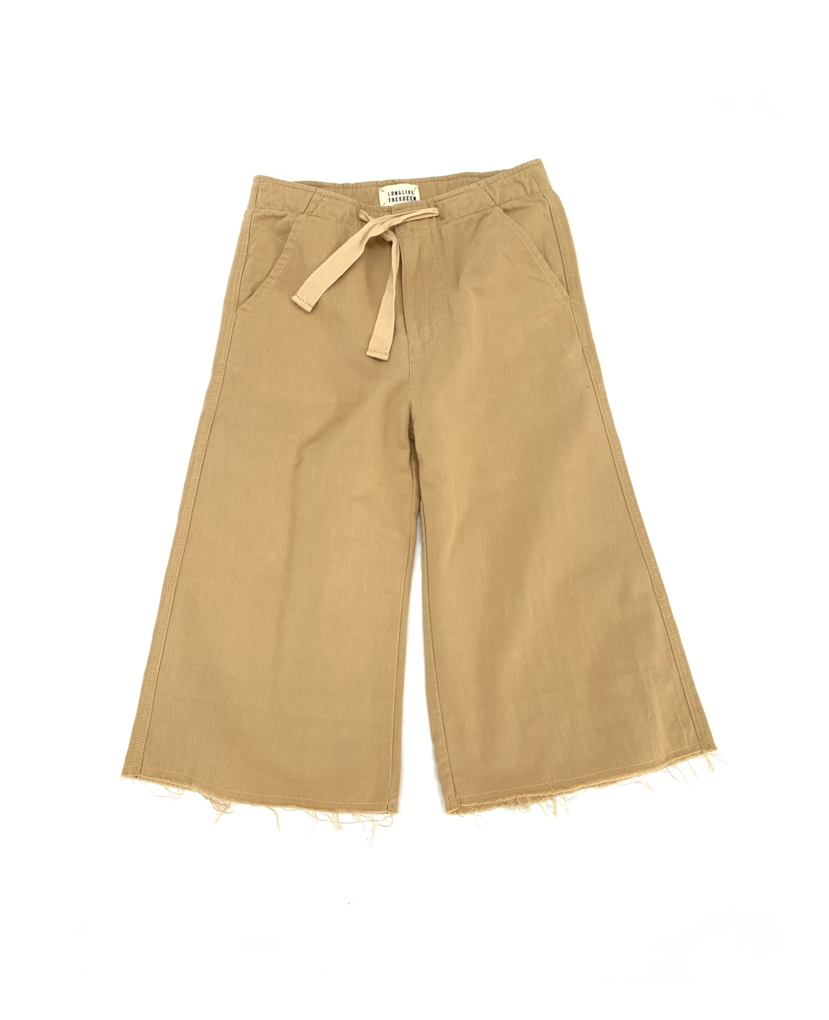 Canvas pants - Beige canvas-1