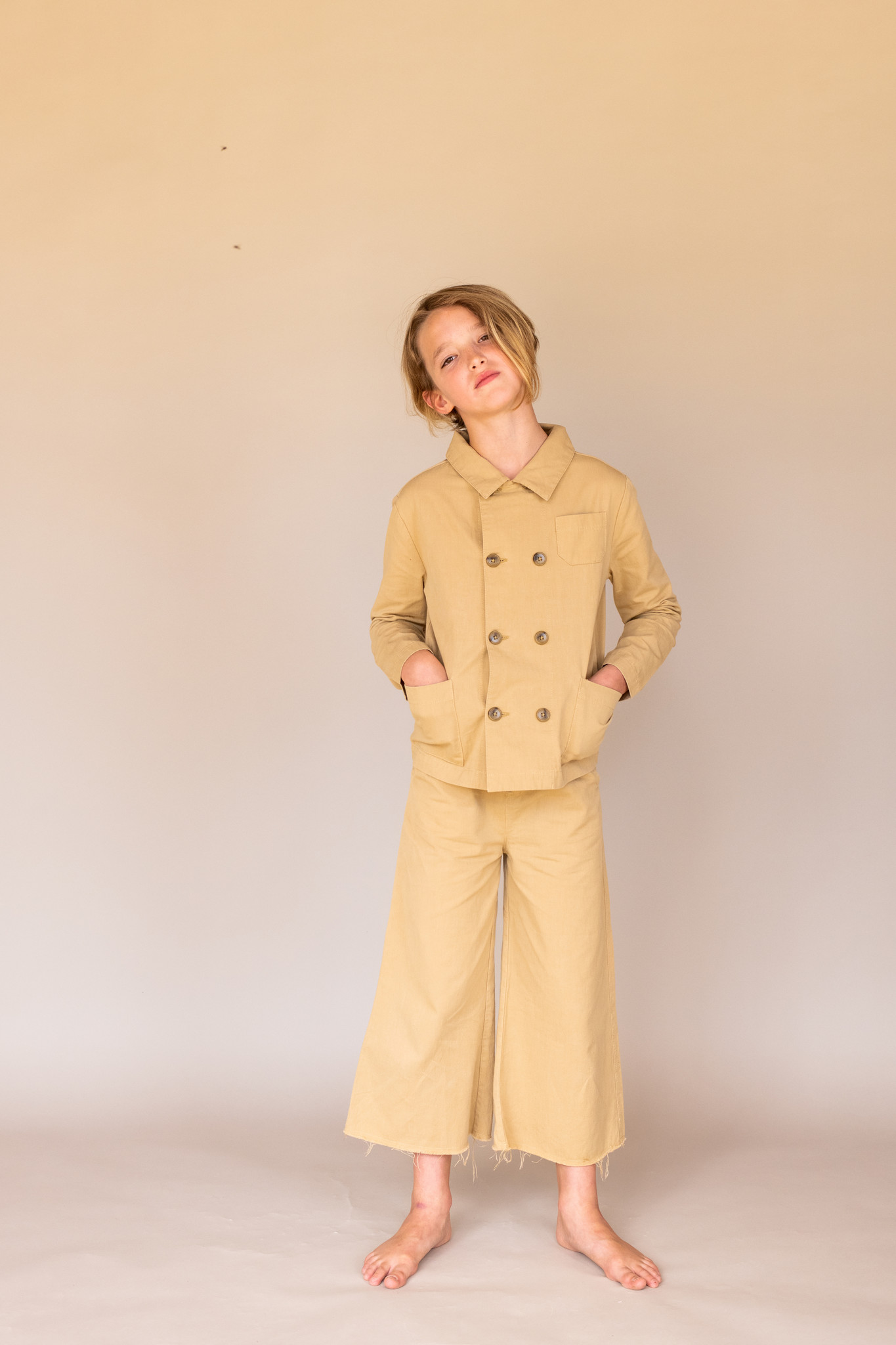 Canvas pants - Beige canvas-2