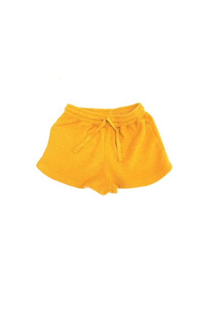Terry shorts - Golden Yellow