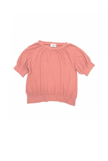 Puff tee - Rose Dawn