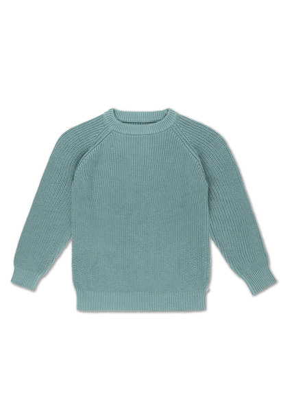 Knit sweater - Greyish Sea
