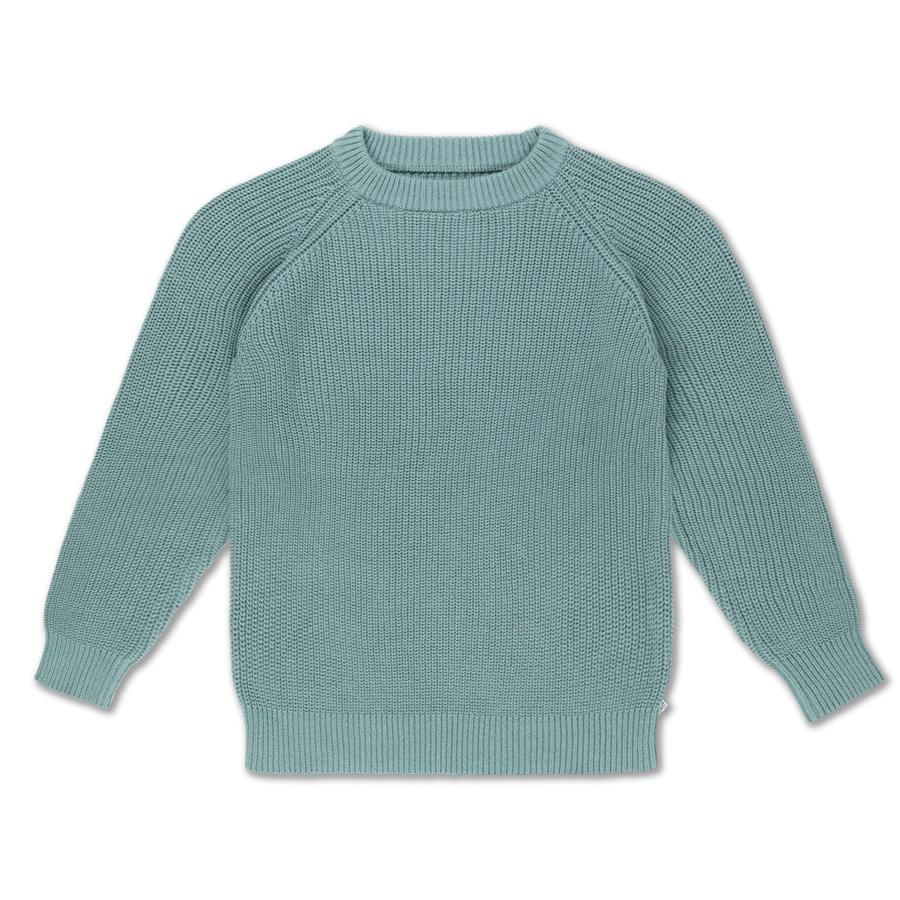 Knit sweater - Greyish Sea-1