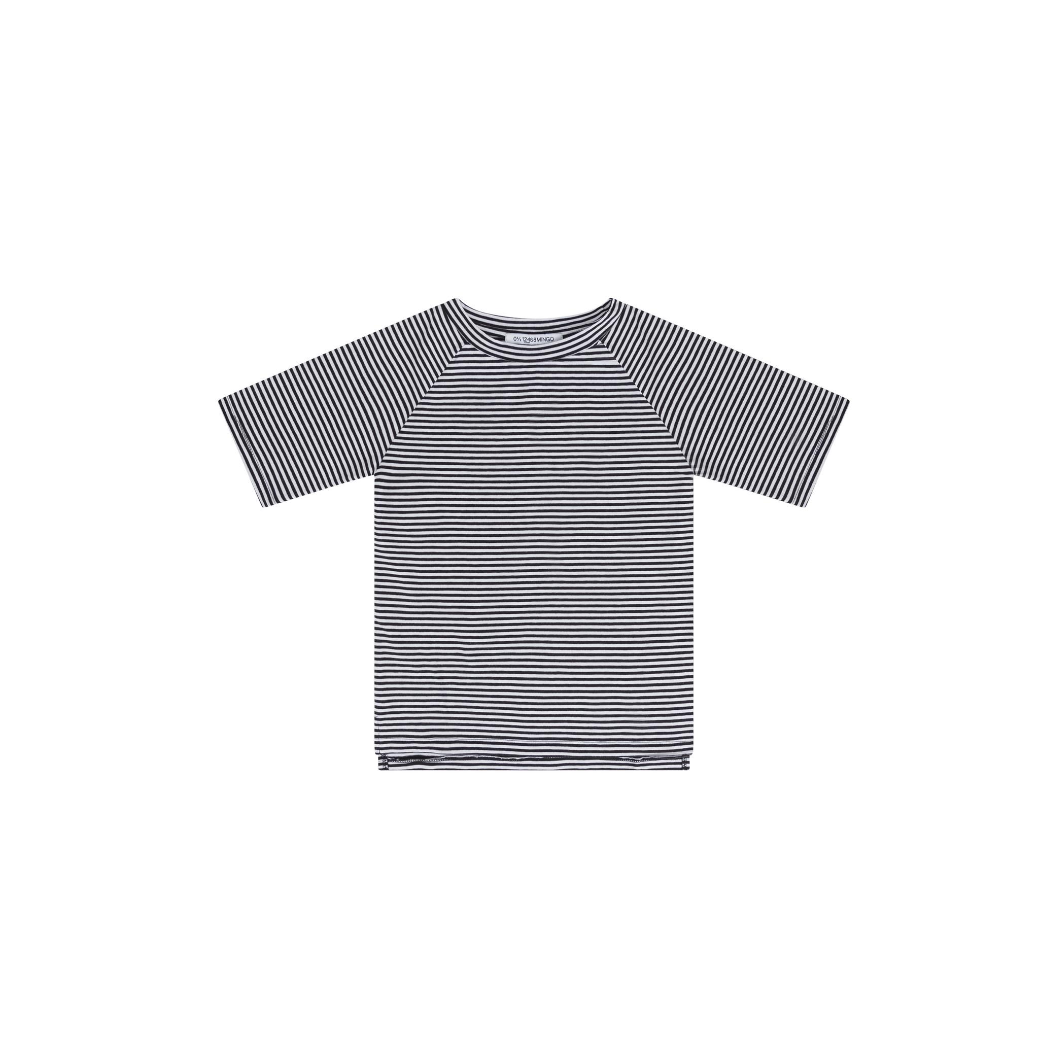 T-Shirt - B/W Stripes-1